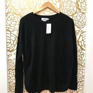 NWT Vineyard Vines Black Tuck Stitch Relax Sweater